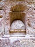 Lugar de Nabatean de la adoración de dios Fotos de archivo libres de regalías
