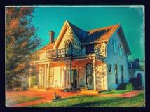 Lugar de nacimiento de Amelia Earhart fotografía de archivo