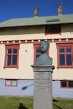 Lugar de nacimiento de Gunnar Thoroddsen Foto de archivo