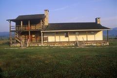 Lugar de nacimiento de Pearl S autor Dólar, que escribió la buena tierra, ruta 219, WV Imagen de archivo