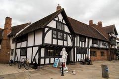 Lugar de nacimiento de Shakespeare imagenes de archivo