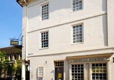 Lugar de nacimiento del Dr. Johnsons, Lichfield, Inglaterra foto de archivo
