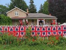 Lugar de nascimento do coronel John McCrae, autor do poema da guerra no campo de Flanders fotos de stock royalty free