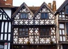 Lugar de nascimento dos shakespeares de Stratford Foto de Stock
