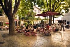 Lugar de nascimento de St-Remy-de-Provence de Nostradamus fotos de stock royalty free