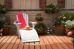 Lugar de relaxamento a sentar-se Imagens de Stock Royalty Free