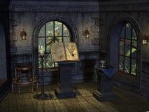 Lugar de rituales stock de ilustración