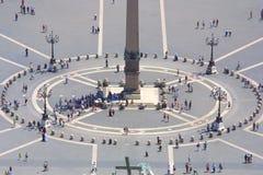 Lugar de Roma - de San Pedro fotografía de archivo