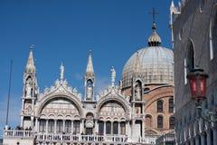 Lugar de San Marcos en Venecia Imágenes de archivo libres de regalías
