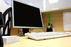 Lugar de trabajo de oficina Imagenes de archivo