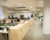 Lugar de trabajo de oficina Imágenes de archivo libres de regalías