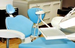 Lugar de trabajo del dentista Imágenes de archivo libres de regalías