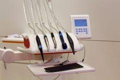 Lugar de trabajo del dentista Fotos de archivo