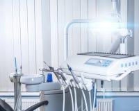 Lugar de trabajo del dentista Imagen de archivo libre de regalías