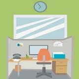 Lugar de trabajo del ejemplo Fotos de archivo