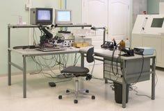 Lugar de trabajo del ingeniero imagen de archivo