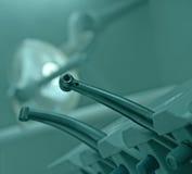 Lugar de trabajo dental Imágenes de archivo libres de regalías