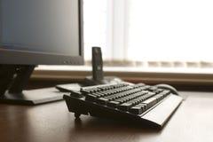 Lugar de trabajo moderno Foto de archivo