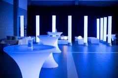 Lugar del banquete de boda imagenes de archivo