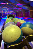 Lugar del bowling Imágenes de archivo libres de regalías