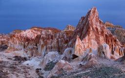 Lugar del desierto en Kazajistán del este Foto de archivo