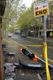 Lugar do acidente Imagem de Stock Royalty Free