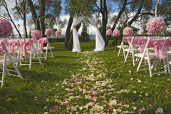Lugar do casamento Fotografia de Stock
