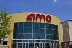 Lugar do cinema de AMC mim Fotografia de Stock Royalty Free
