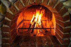 Lugar do fogo Imagens de Stock Royalty Free