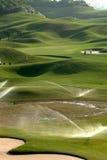 Lugar do golfe Imagens de Stock