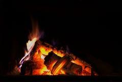 Lugar do incêndio Foto de Stock Royalty Free