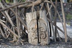 Lugar do refúgio na ilha grande, Havaí Foto de Stock