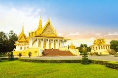 Lugar do rei do khmer de Camboja Royal Palace Foto de Stock