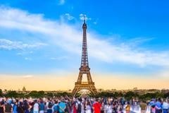 Lugar do turista de Paris Imagens de Stock Royalty Free