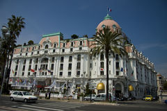 Lugar famoso en d'Azur del corral Imagen de archivo