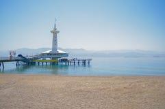 Lugar famoso a viajar en Eilat Imagen de archivo