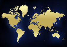 Lugar financeiro do mundo Imagem de Stock