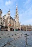 Lugar grande - Bruxelas, Bélgica Imagem de Stock