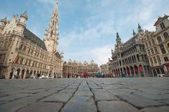 Lugar grande - Bruxelas, Bélgica Foto de Stock Royalty Free