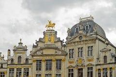 Lugar grande, Bruxelas, Bélgica Imagens de Stock Royalty Free
