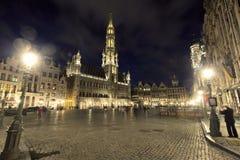 Lugar grande de Bruxelas Fotos de Stock Royalty Free