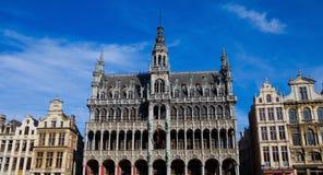 Lugar grande em Bruxelas fotografia de stock