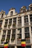 Lugar grande em Bruxelas Fotografia de Stock Royalty Free