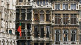Lugar grande em Bruxelas, Bélgica Imagem de Stock Royalty Free
