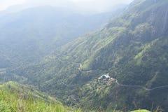 Lugar hermoso de la naturaleza Ella Sri Lanka fotos de archivo libres de regalías