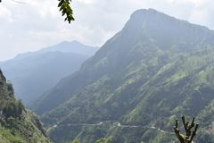 Lugar hermoso de la naturaleza Ella Sri Lanka imagenes de archivo