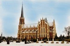 Lugar hermoso en Bielorrusia Imagen de archivo libre de regalías