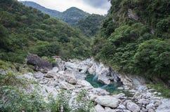 Lugar hermoso en Hualien que se llama Mukumugi Imagenes de archivo