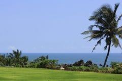 Lugar hermoso para ver la playa de Parangtritis Fotos de archivo