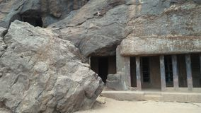 Lugar histórico Bhaje Leni fotos de stock royalty free